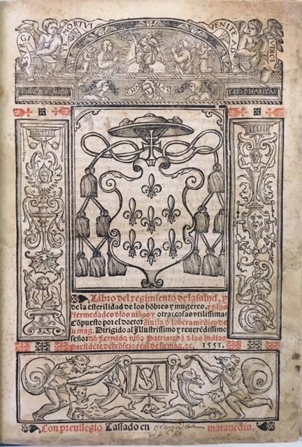 Libro del regimiento dela salud