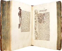 Libros incunables