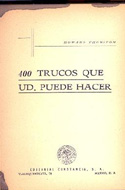400 trucos que usted puede hacer  - Howard Thurston